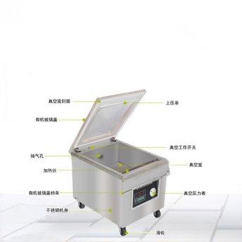 1-2公斤茶叶自动真空包装机厂家