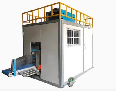 国外出口港口用的集装箱颗粒定量包装机
